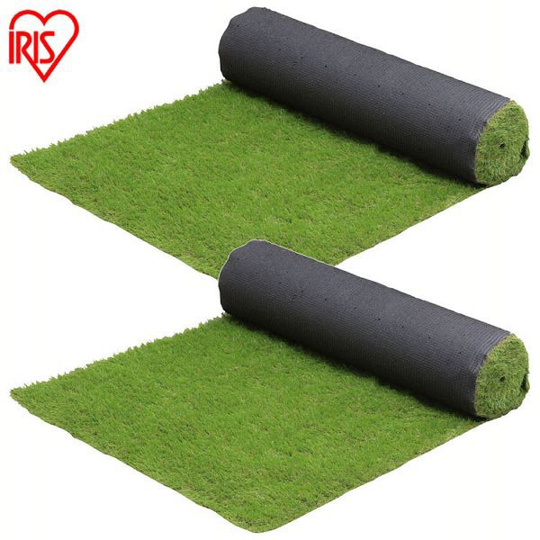 【2個セット】リアル防草人工芝 RP-3025 アイリスオーヤマ 人工芝 人工芝マット 芝マット リアル人工芝 人工芝生 芝生 雑草対策 ロールタ