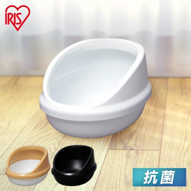 キャットトイレ ペットトイレ 猫 トイレ 猫トイレ アイリスオーヤマ ネコのトイレ ハーフカバー P-NE-500-H キャット 本体 ネコトイレ ペ