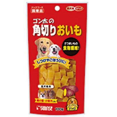 サンライズ ゴン太の角切りおいも 100g おやつ 食物繊維 犬 いぬ イヌ