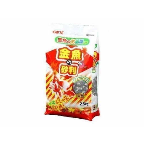 GEX金魚の砂利ナチュラルミックス2.5kg[LP] 【TC】 Pet館 ペット館 楽天