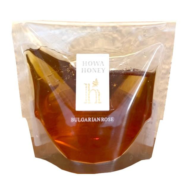 蜂和産業 ブルガリア産ローズはちみつ 120g×3袋 パウチ入り 送料無料 ハチミツ 蜂蜜