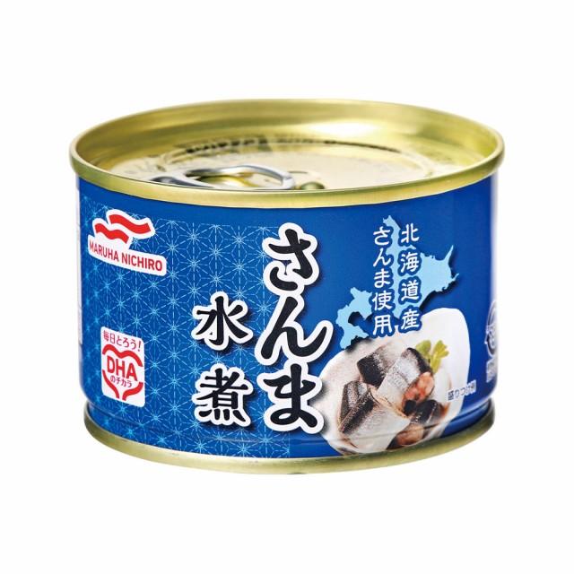 [24個セット]マルハニチロ さんま水煮 送料無料