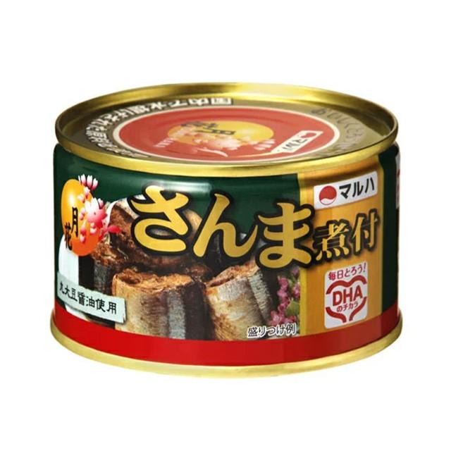 [1缶309円]マルハニチロ 月花さんま煮付 缶詰 200g×48缶 送料無料 サンマ 秋刀魚 さんま