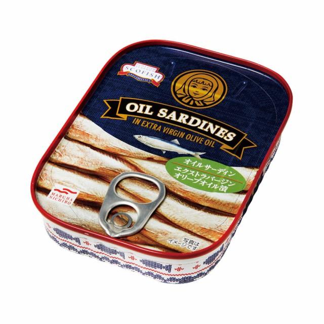 [48缶セット]マルハニチロ TETTY オイルサーディン エクストラバージンオリーブオイル漬 送料無料
