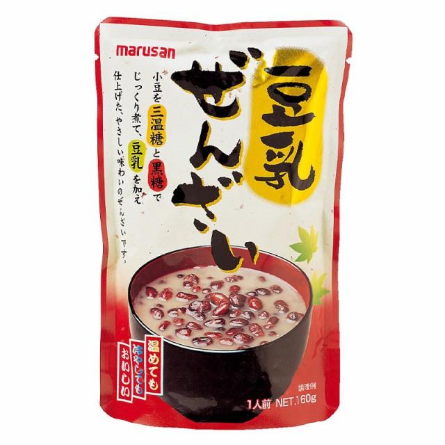 [20袋セット]マルサンアイ 豆乳ぜんざい 160g 送料無料