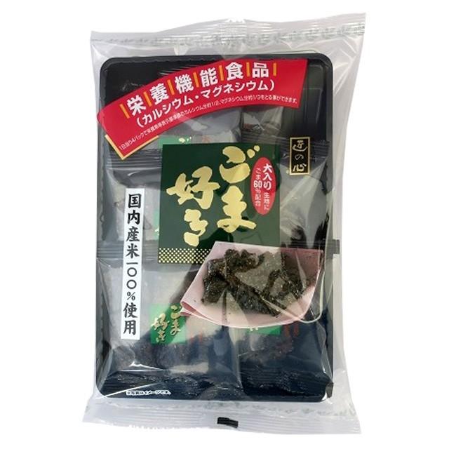 [6袋セット]丸彦製菓 ごま好き 112g 栄養機能食品 送料無料