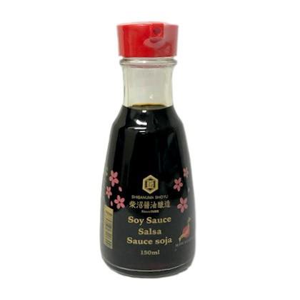 柴沼醤油 海外版 濃口醤油 卓上瓶 150ml×12本セット 送料無料