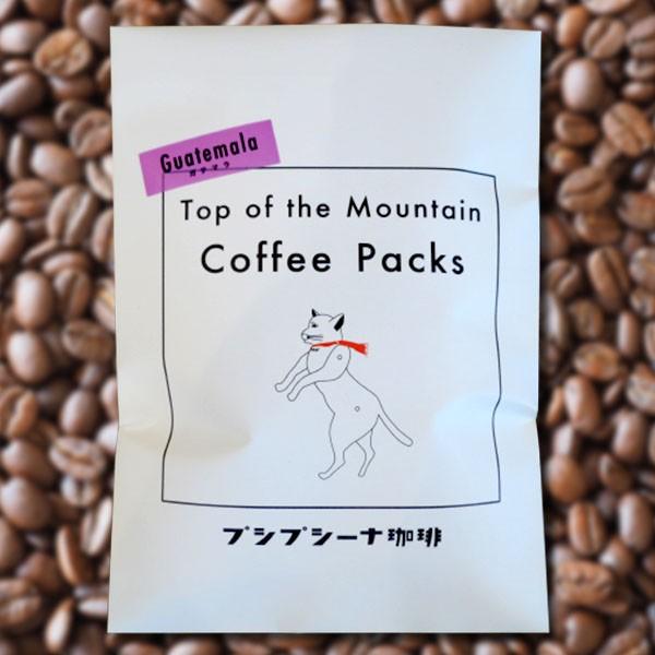自家焙煎 ドリップコーヒー ガテマラ産 5パック入り プシプシーナ珈琲 コーヒー フルーティー 香川県 讃岐