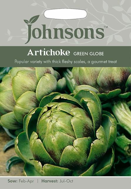 【輸入種子】Johnsons Seeds Artichoke Green Globe アーティチョーク グリーン グローブ ジョンソンズシード
