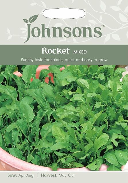 【輸入種子】Johnsons Seeds Rocket Mixed ロケット・ミックス ジョンソンズシード