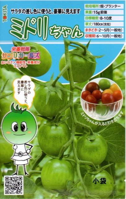 【種子】 ミニトマト ミドリちゃん トキタ種苗のタネ