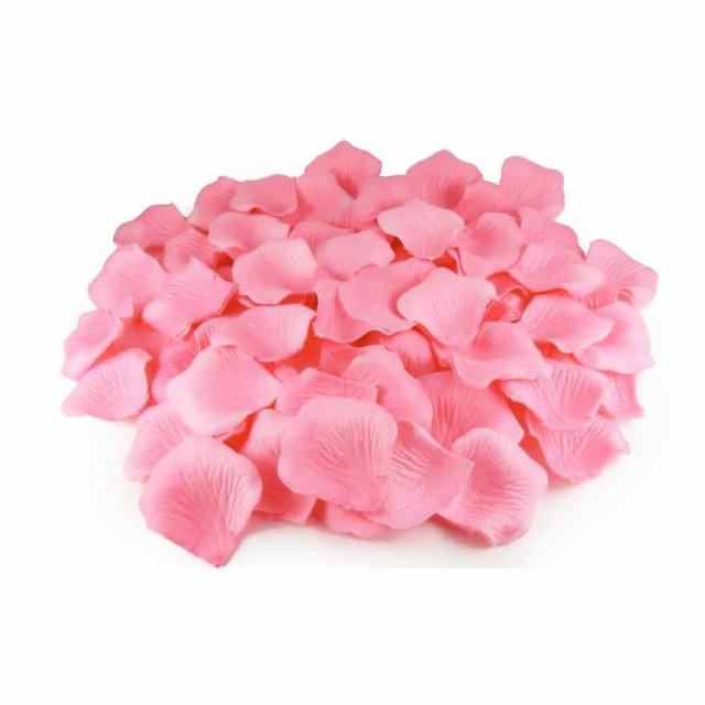 フラワーシャワー バラ 花びら 造花 720枚パック ピンク