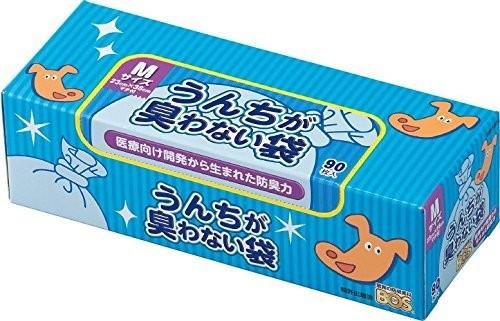 驚異の防臭袋 BOS ボス うんちが臭わない袋 犬用 ペット用 うんち 消臭袋 処理袋 トイレ袋 うん