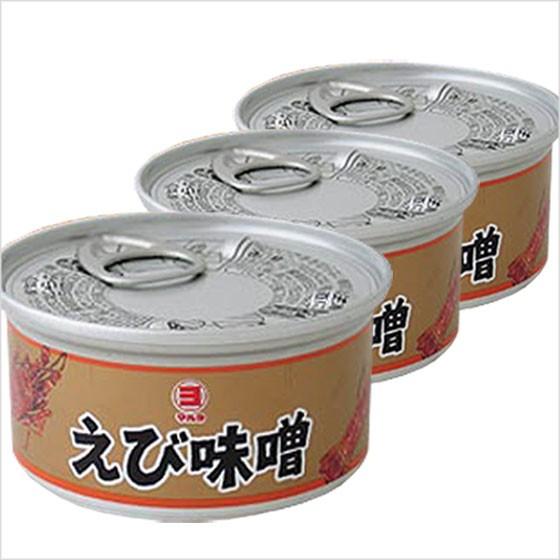 送料無料 えび味噌 えびみそ エビ えび 海老 山陰 日本海 兵庫県産 缶詰 100g 3個セット