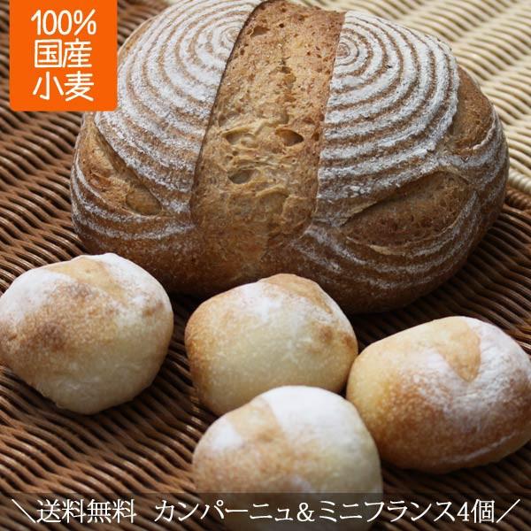 送料無料 人気 カンパーニュ フランスパン 詰め合わせ 天然酵母 天然酵母パン ポイント消化 ギフト 自宅用