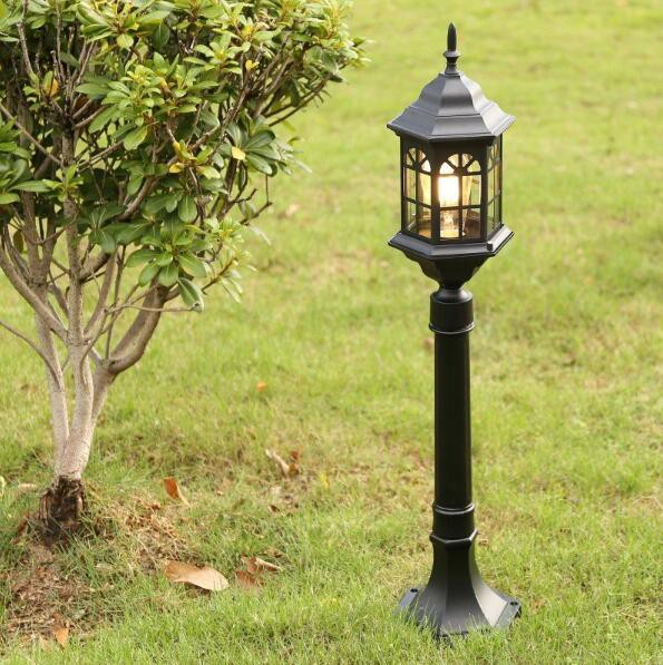 庭園灯 ポール灯 ガーデンライト 門柱灯 門灯 外灯 照明 照明器具 屋外照明 レトロ 防水 スタンドライト エントランス 玄関照明 エクステ