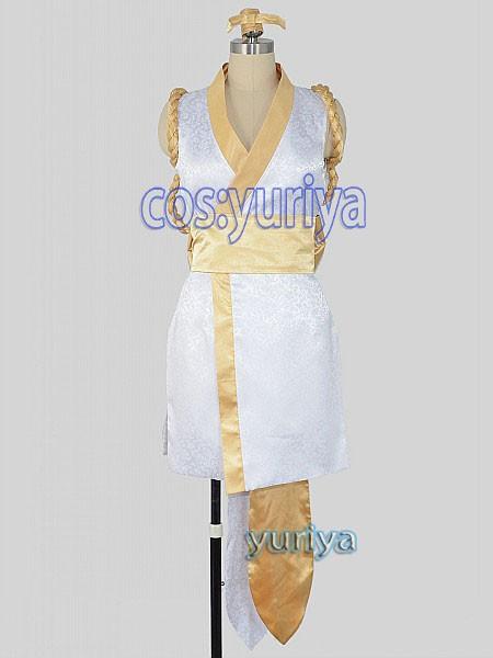ザ・キング・オブ・ファイターズ 不知火舞 (しらぬいまい) 金色 コスプレ衣装