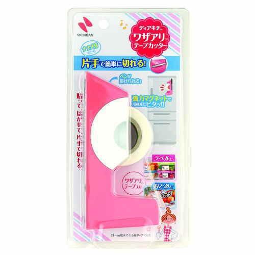 ニチバン ワザありテープカッター ピンク DK-TC11