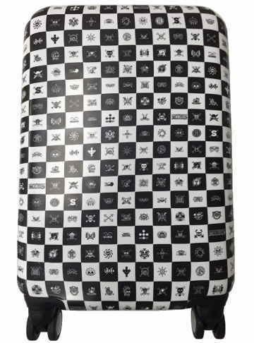 (ワンピース) One Piece キャリーバッグ スーツケース S サイズ(57×39×25cm)30L モノクロ TSAロック 【佐川急便】