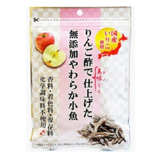 りんご酢で仕上げたやわらかい小魚 化学調味料・着色料・保存料無添加 42g