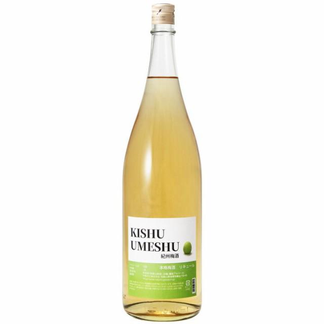 お酒 梅酒 オシャレ かわいい 女子会 人気 梅酒 KISHU UMESHU 1800ml 一升瓶 中野BC 長久庵