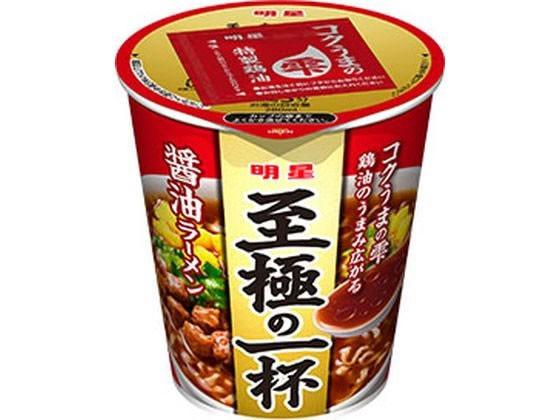明星食品/至極の一杯 鶏コク醤油ラーメン 66g