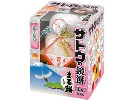 サトウ/サッと鏡餅 まる餅入り 330g