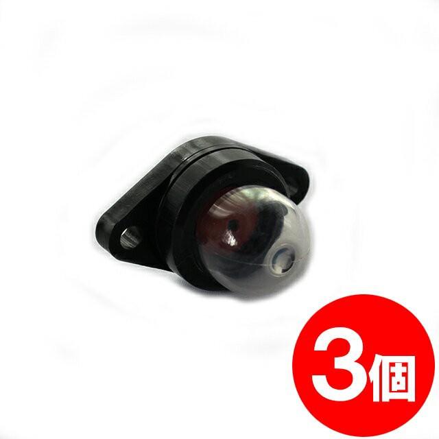 3個 ワルボロ製 キャブレター用 プライマリーポンプ WPV07 互換品 【刈払機・草刈機・ブロワーなどに】