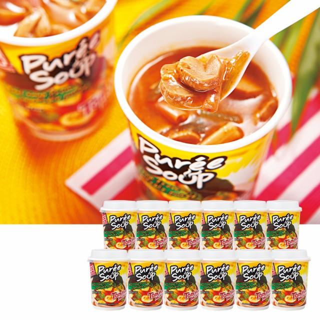 タイお土産 | トムヤム マッシュルームスープ 12個セット【196018】