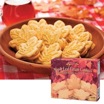 [在庫処分][訳あり] カナダお土産 | メープルクリームクッキー (メイプル) 1箱【101193】