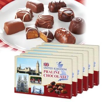 イギリスお土産 | イギリス プラリネチョコレート 6箱セット【191150】