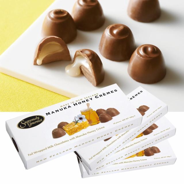 ニュージーランドお土産 | マヌカハニー クリーム チョコレート 4箱セット【195058】