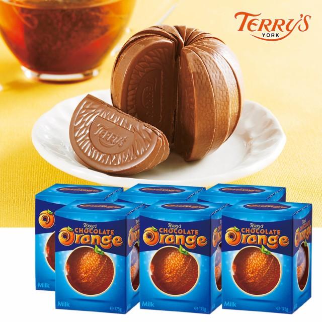 イギリスお土産   テリーズチョコレート オレンジミルク 6箱セット【191140】