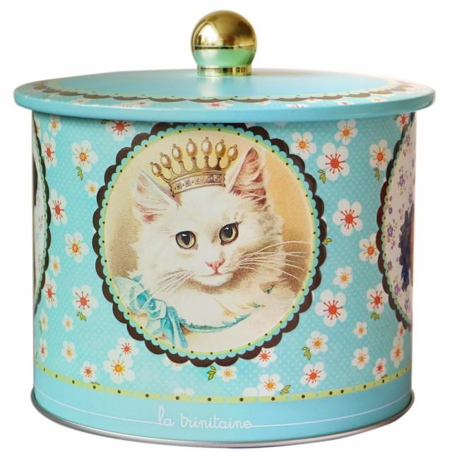 ラ・トリニテーヌ アニマル(猫、犬、ウサギ)バレル缶 ガレット・パレット詰め合わせ【880019】