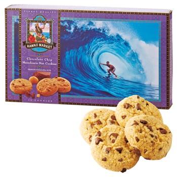 ハワイお土産 | ハワイノースショア マカデミアナッツチョコチップクッキー【193040】