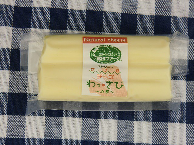 北海道 チーズ さけるチーズ(山わさび)100g【A1507】沖縄・離島は注文は受け付けておりません 産直品の為、同梱・代引き不可 ほっかいど