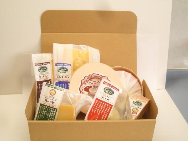 ウオッシュ系おこっぺ山のチーズが丸ごと400g「誇り高きチーズ6品Aセット木箱付き!」 北海道の徹底管理された安心なファームチーズのお