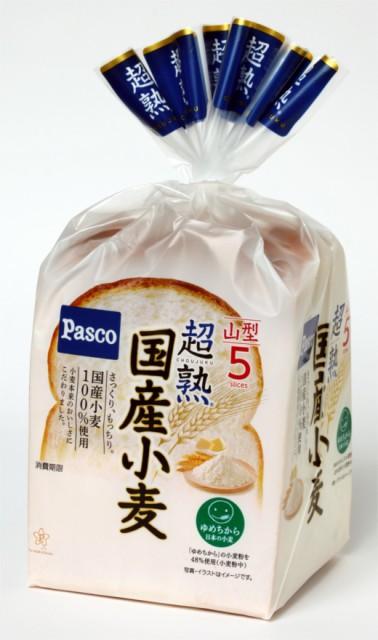 【バラ売】パスコ 超熟 国産小麦 5枚スライス