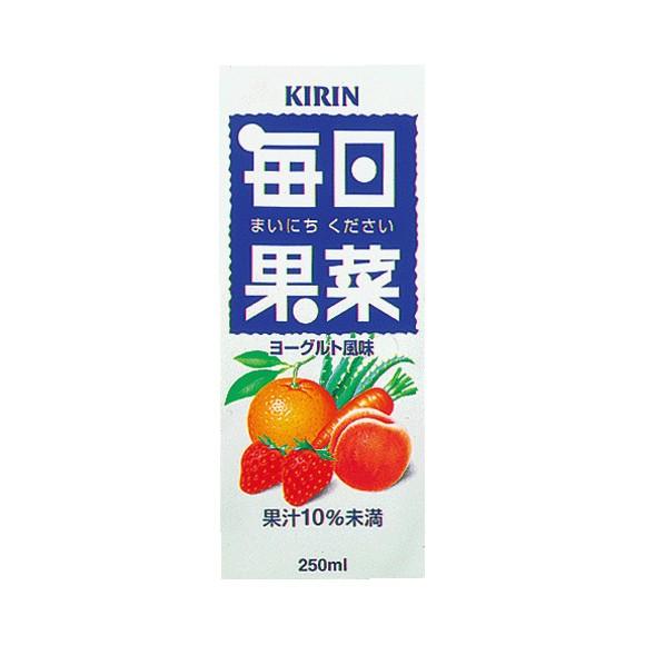 キリン 毎日果菜(まいにちください)250ml 紙パック24本【送料無料】