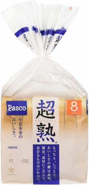 【バラ売】パスコ 超熟食パン 8枚スライス