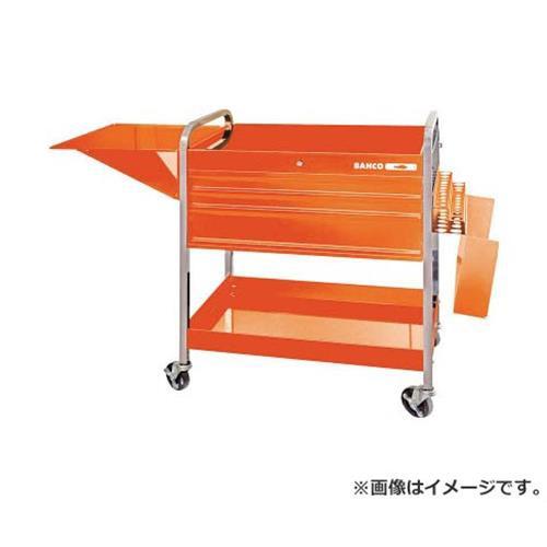 バーコ(Bahco) ロールカート3段引き出し+2トレイ オレンジ 1470KC5 [r21][s9-930]
