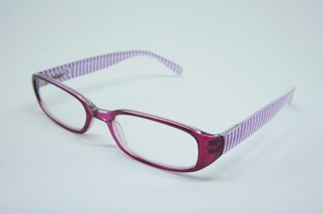 おしゃれシニアグラス(老眼鏡)女性用 ポリカーボネイト ピンク 137×145×30mm AP118S 1.0度