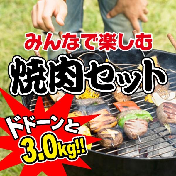 牛肉 黒毛和牛 A5 みんなで楽しむ焼肉セット3.0kg (大和榛原牛カルビ・たれ漬け 各300g、豚バラ・豚トロ・鶏モモ肉 各600g、ウインナー1