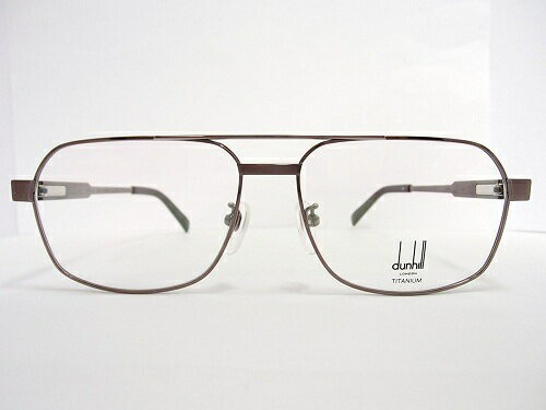 dunhill(ダンヒル) メガネ 1002 col.BR 57mm MADE IN JAPAN  日本製 メンズ ビジネス