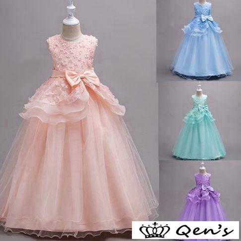 baa2af864aa81 子供ドレス ピアノ発表会 ロング 七五三 グレー 170 紫 150 赤 140 ジュニアドレス 子ども