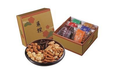 おかき・かりんとう詰合せ「菓撰」 お煎餅 おせんべい 煎餅 おかき かりんとう 詰め合わせ ギフト