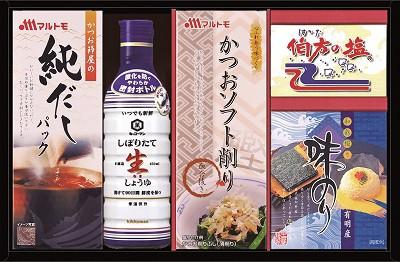 キッコーマン生しょうゆ バラエティギフト 醤油 味海苔 塩 鰹節 だしの素 詰め合わせ ギフト