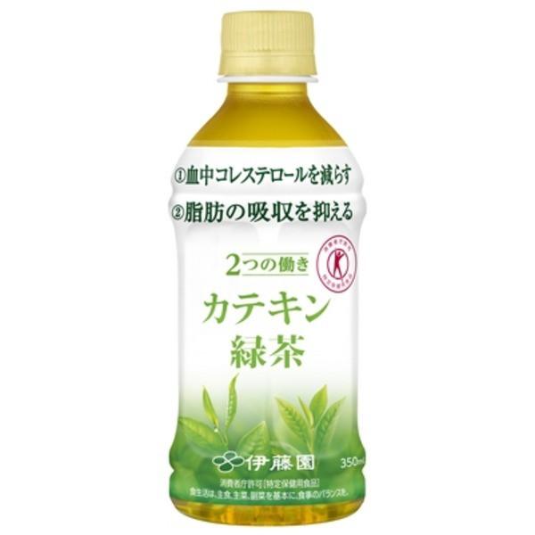 2つの働きカテキン緑茶 350ml×24本 PET