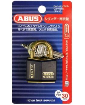 ABUS シリンダー南京錠30mm BPT84MB 30