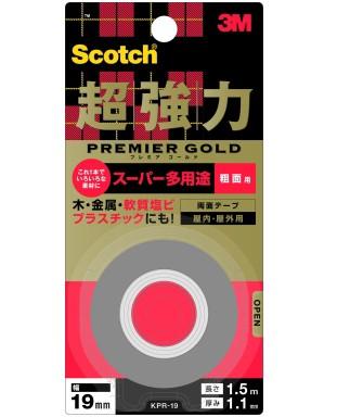 3M スコッチ 超強力両面テープ プレミアゴールド スー...